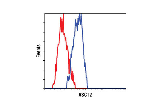 Flow Cytometry Image 1: ASCT2 (V501) Antibody