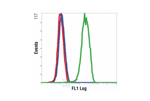 Flow Cytometry Image 1: Phospho-p44/42 MAPK (Erk1/2) (Thr202/Tyr204) (197G2) Rabbit mAb