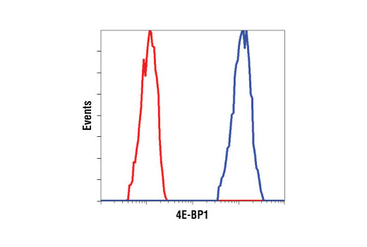 Flow Cytometry Image 1: 4E-BP1 (53H11) Rabbit mAb