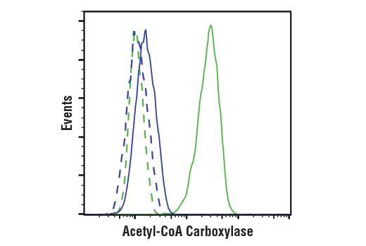 Flow Cytometry Image 1: Acetyl-CoA Carboxylase (C83B10) Rabbit mAb