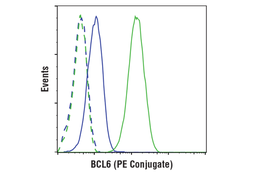 Flow Cytometry Image 1: BCL6 (D4I2V) XP® Rabbit mAb (PE Conjugate)