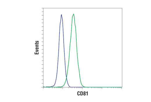 Flow Cytometry Image 1: CD81 (D5O2Q) Rabbit mAb (Mouse Specific)