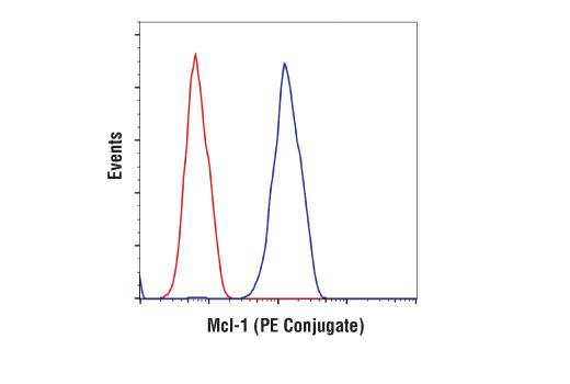 Monoclonal Antibody - Mcl-1 (D2W9E) Rabbit mAb (PE Conjugate), UniProt ID P97287, Entrez ID 17210 #65617 - Apoptosis