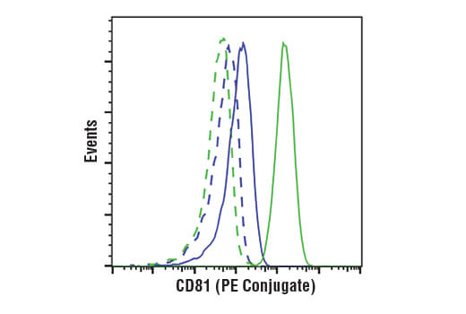 Flow Cytometry Image 1: CD81 (D5O2Q) Rabbit mAb (Mouse Specific) (PE Conjugate)