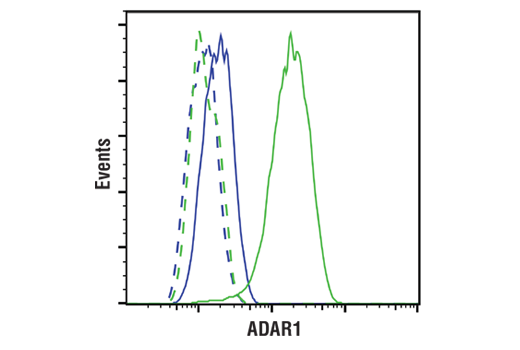 Flow Cytometry Image 1: ADAR1 (E6X9R) XP® Rabbit mAb