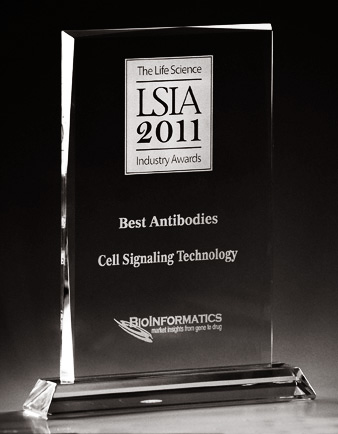 2011 LSIA Best Antibodies Award