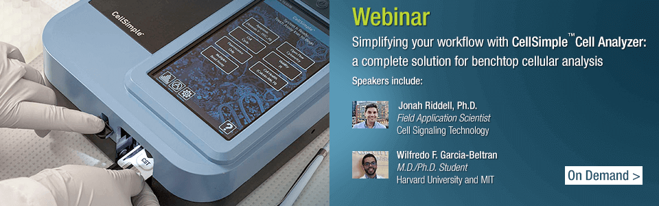 Webinar: Simplyfying your workflow with CellSimple