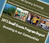 2015 Small Grant Report